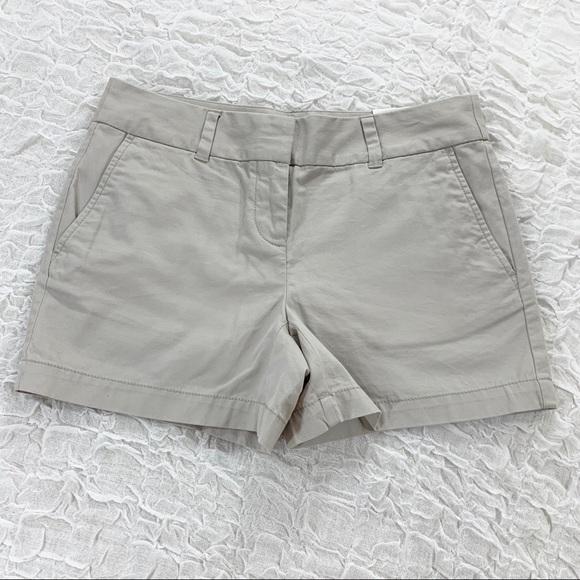 """LOFT Pants - NWT LOFT khaki 4"""" cotton shorts"""
